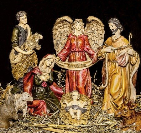 Christmas nativity the King of kings