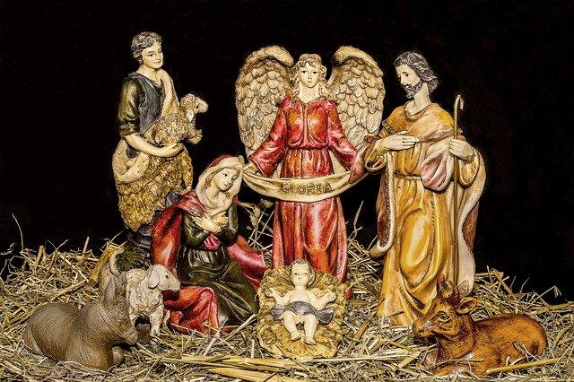 Christmas nativity the King of kings