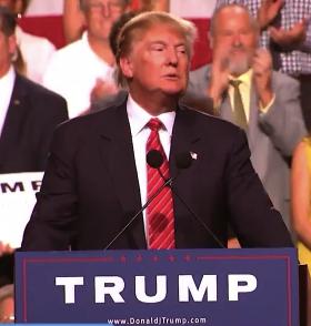Donald Trump in Phoenix 7.11.15 courtesy of Fox 10 Phoenix