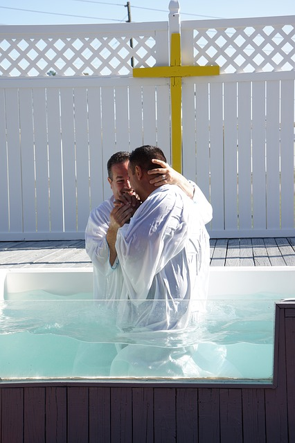Baptism by immersion - the true baptism