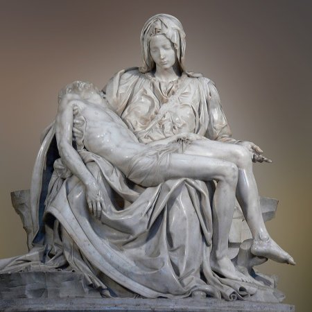Jesus dead in Mary's arms - La Pieta