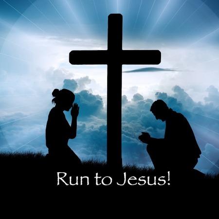 run to Jesus