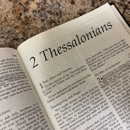 2 Thessalonians Bible