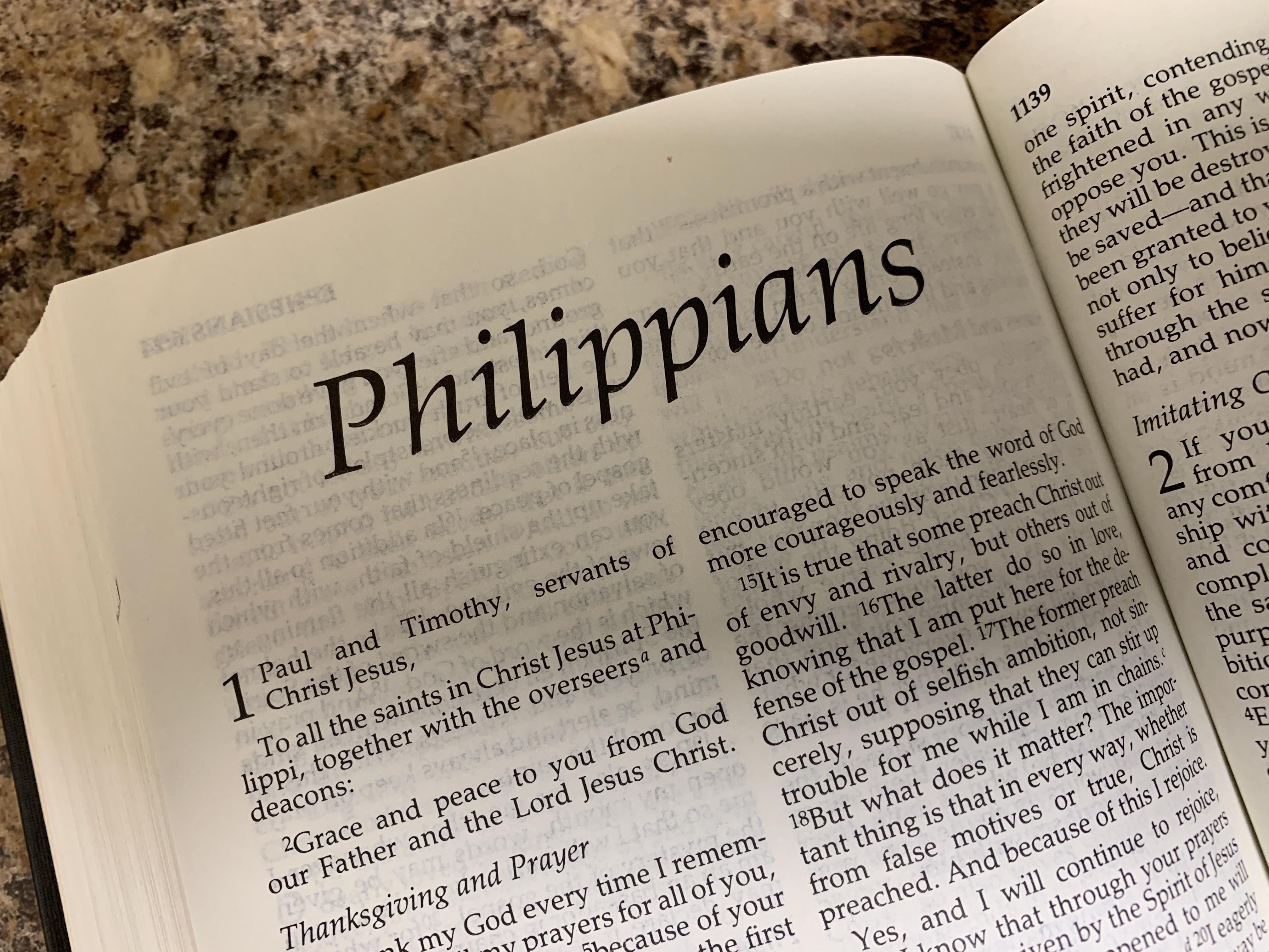 Bible Study: Philippians