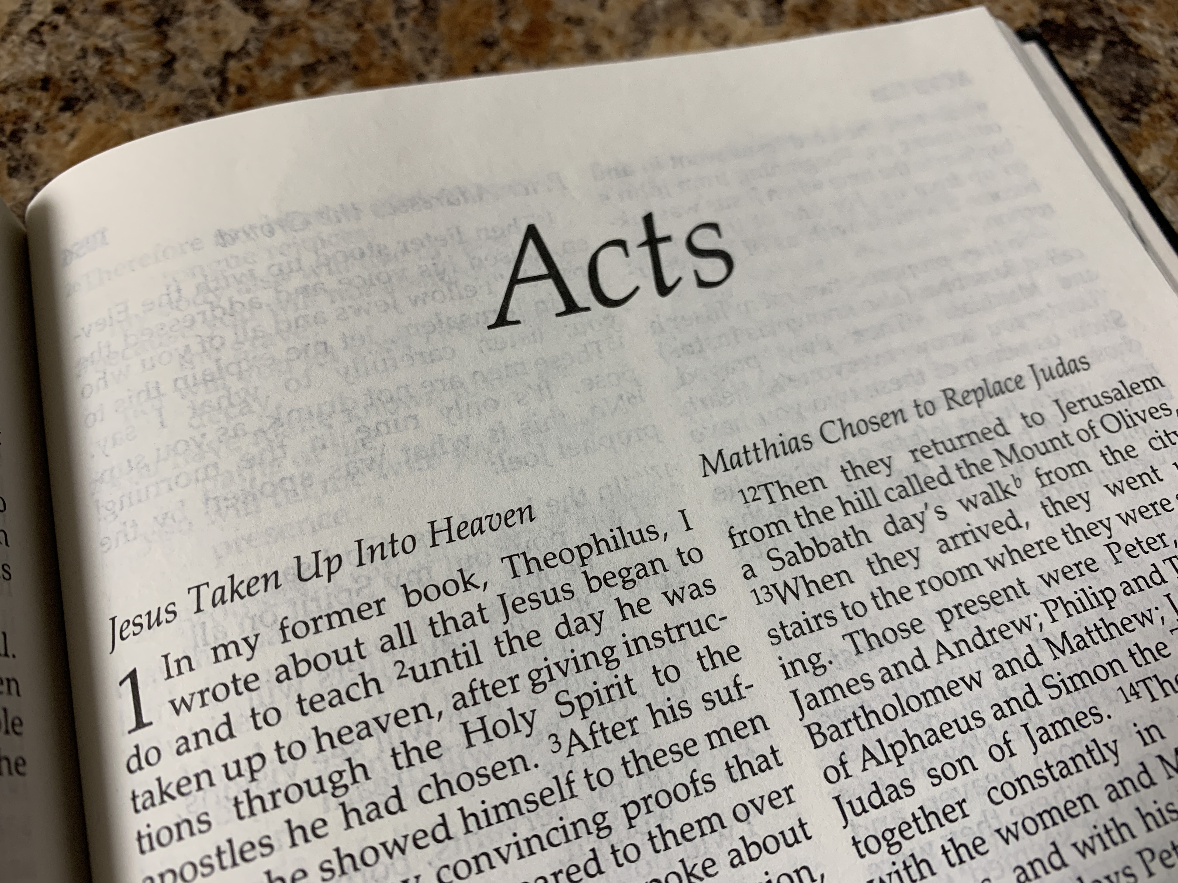 The Book of the Acts of the Apostles