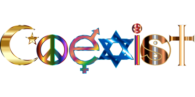 Coexist - no one is right, no one is wrong