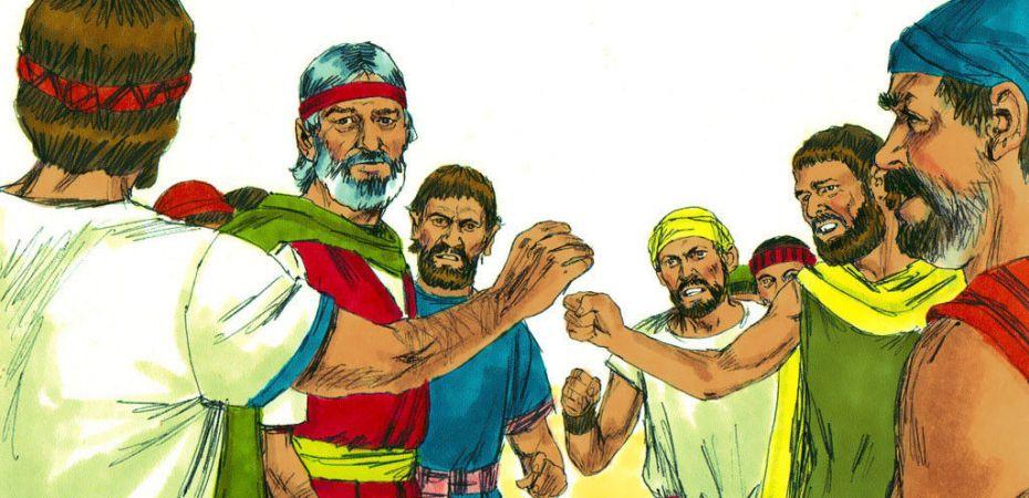 Israelites Rebel against Moses
