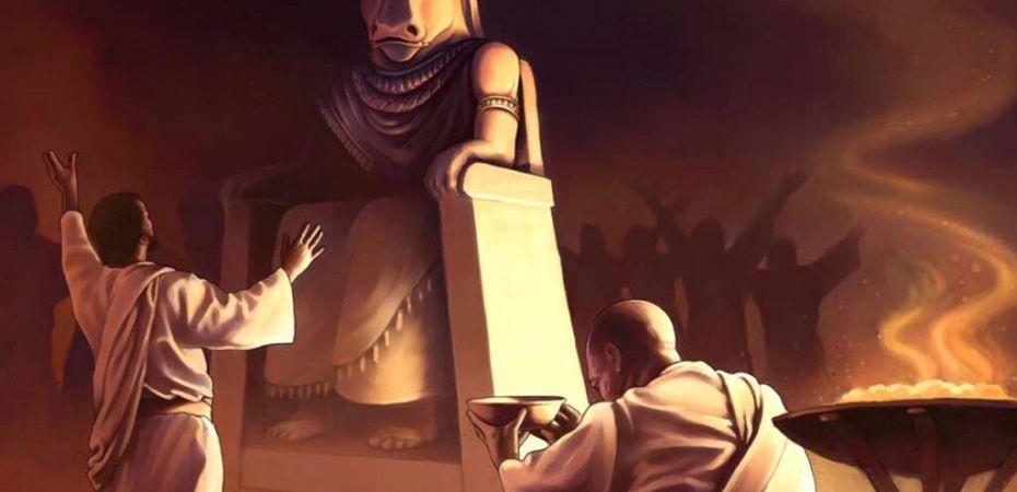 idols, pagan gods, worship