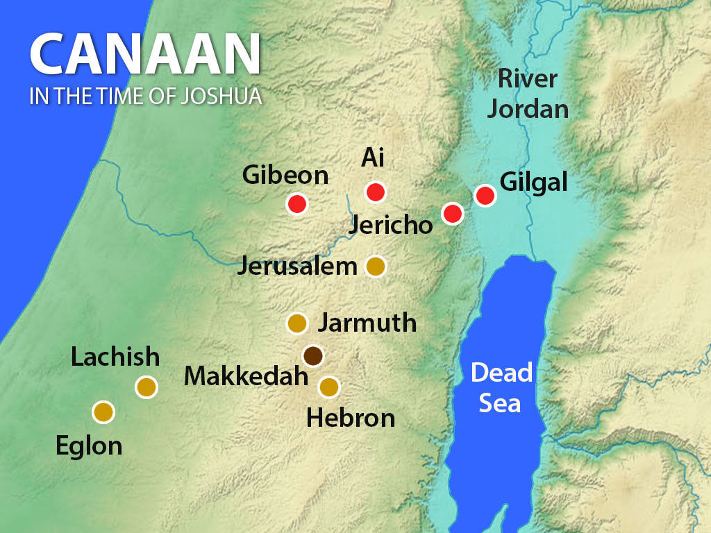 The kings of these cities in Canaan joined forces against Israel, but God had other plans!