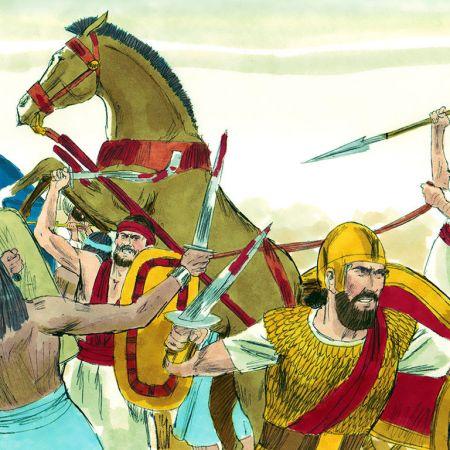 1 Samuel 4 - Philistines vs Israel
