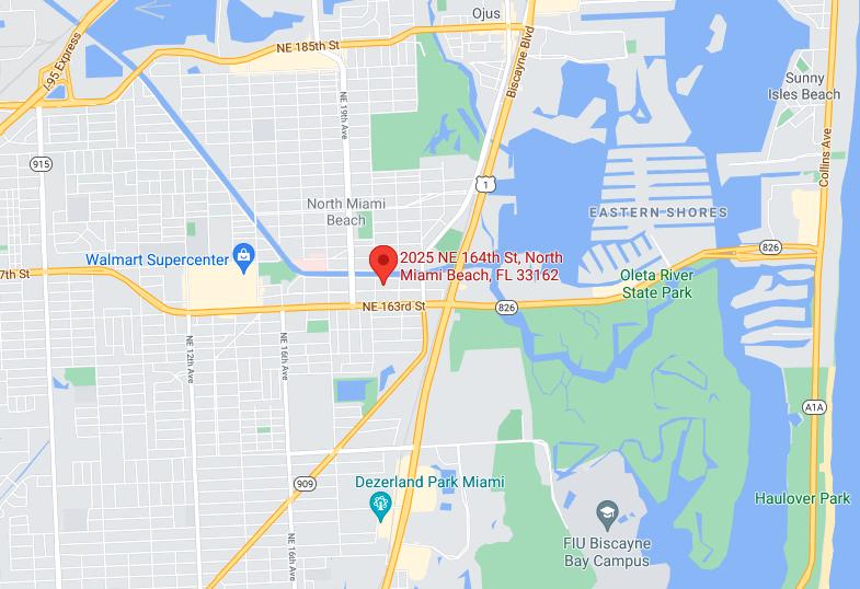 2025 Northeast 164th Street, North Miami Beach, FL, Google Maps