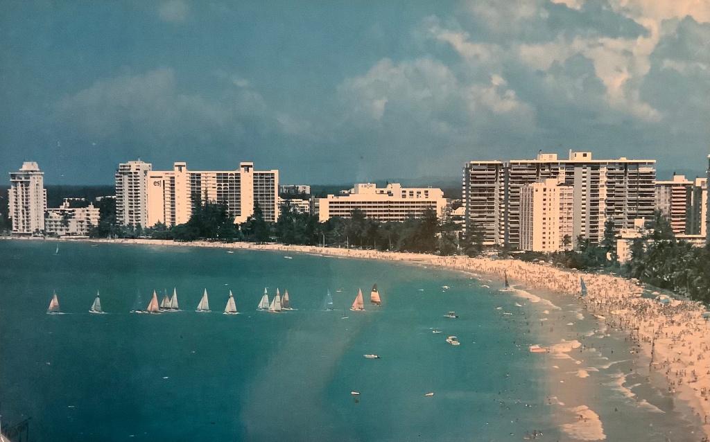 Beachfront living in Isla Verde, Puerto Rico.