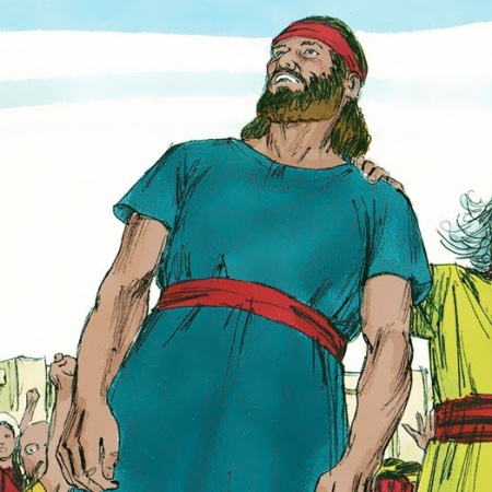King Saul Anointed by the Holy Spirit