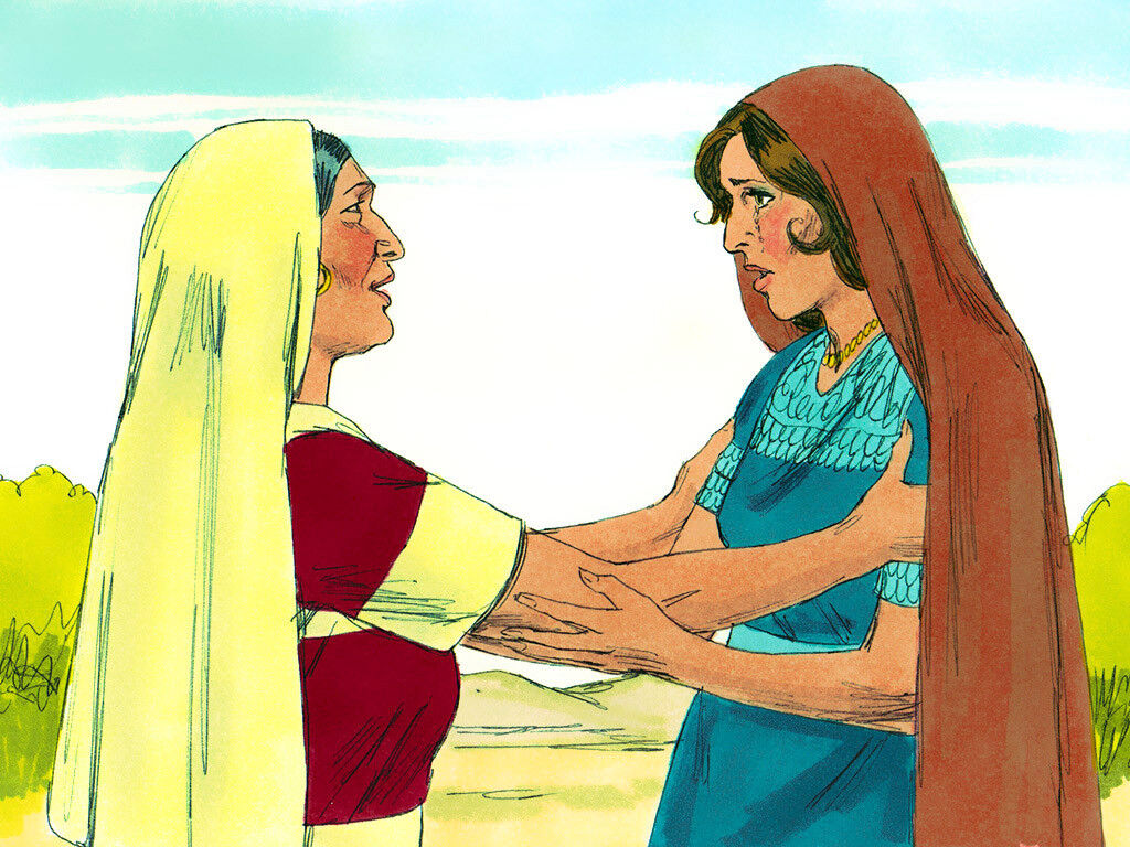 Naomi and Ruth, image by Sweet Publishing from FreeBibleImages.org, (CC BY-SA 3.0)