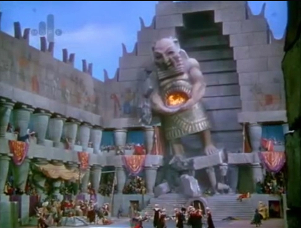 Temple of Dagon from Samson and Deliliah, 1949 movie.